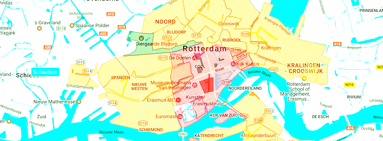 Parkeren Casino Rotterdam